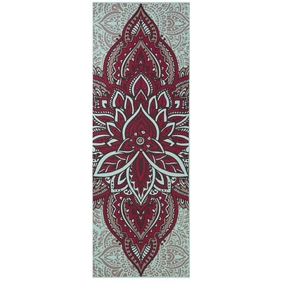 Yogamatta 6mm Reversible Zara Rouge - Gaiam