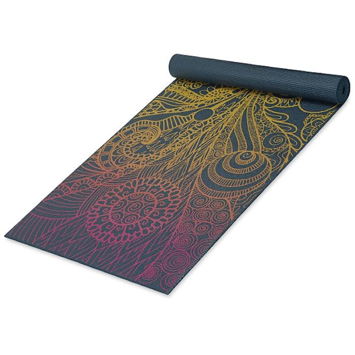 Yogamatta 4mm Vivid Zest - Gaiam