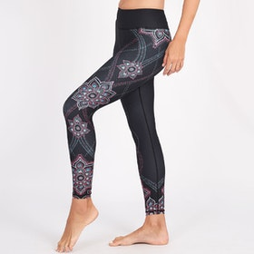 Yogaleggings Acacia Recycled High Waist 7/8 - Dharma Bums