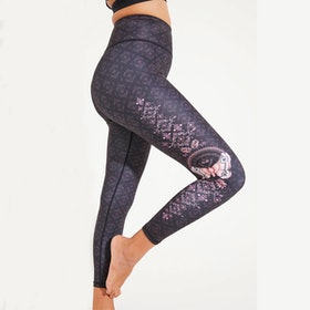 Yogaleggings Infinity Recycled High Waist 7/8 - Dharma Bums
