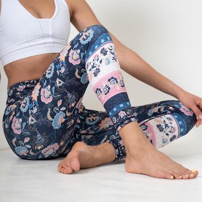 Yogaleggings Corsica Recycled High Waist 7/8 - Dharma Bums