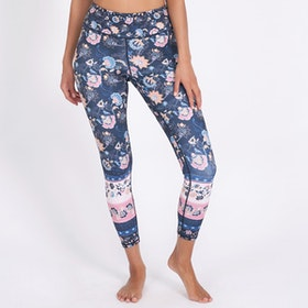 Yogaleggings Corsica Recycled High Waist 7/8 - Dharma Bums