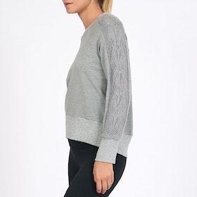 Sweatshirt Tree of Life Silver Melange - Dharma Bums