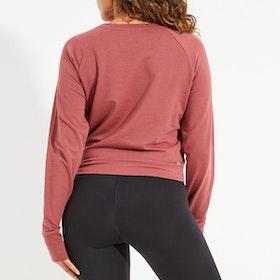 Sweatshirt Arcadia Crop Rustic - Dharma Bums