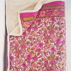 Yogafilt Sari/silke Cerise/Rosa - E-swiss