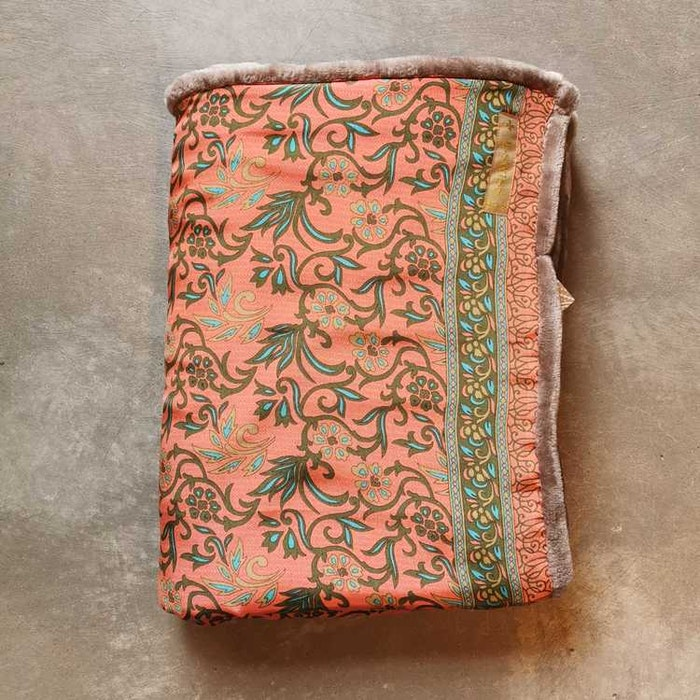Yogafilt Sari/silke Aprikos - E-swiss