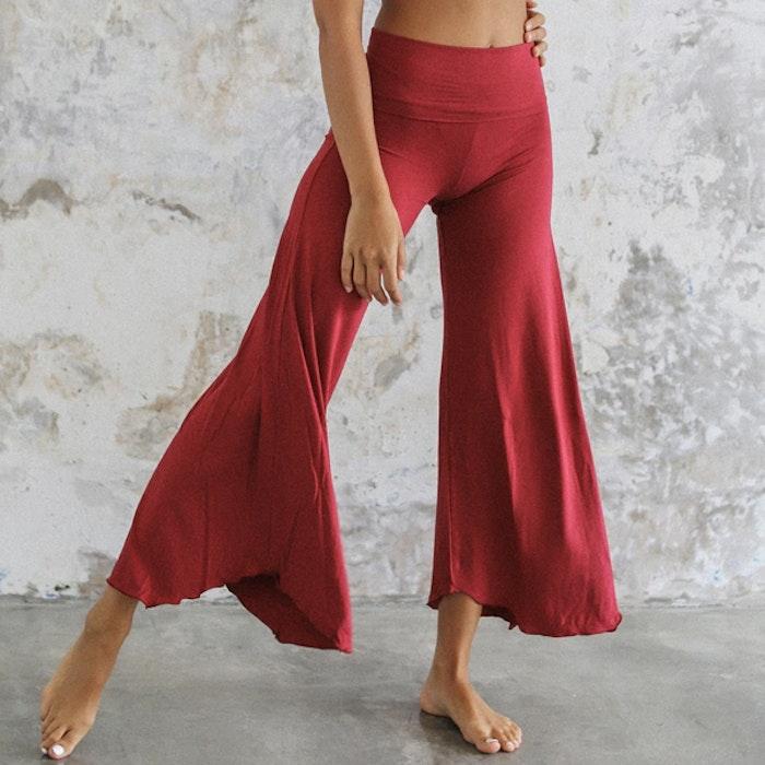 Yogabyxor Layla Flares Dark Rose - Indigo Luna