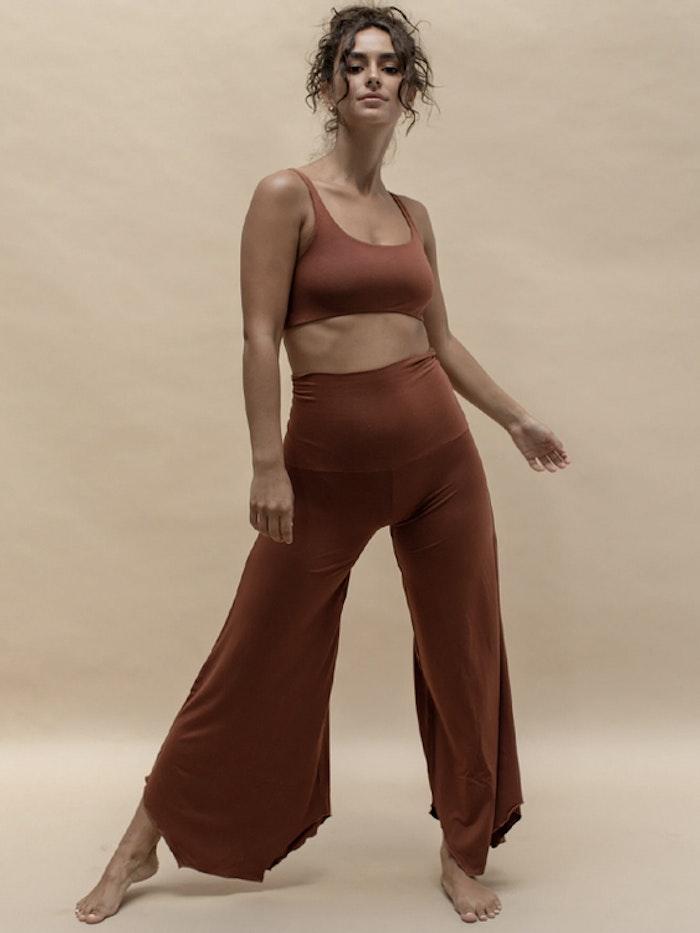 Yogabyxor Layla Flares Spice - Indigo Luna