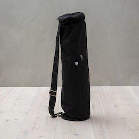 Yogaväska svart rund från YogiRAJ