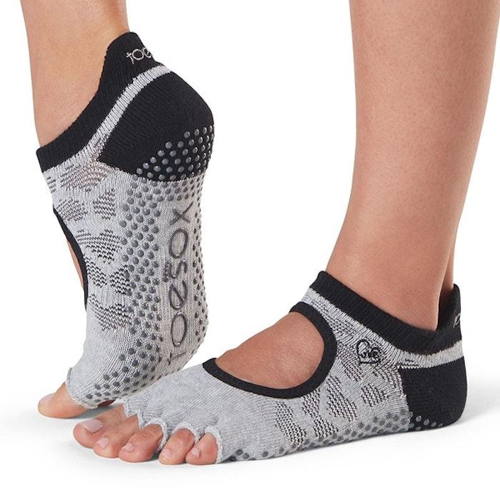 Yogastrumpor Halftoe Bellarina Grip Infinite - ToeSox
