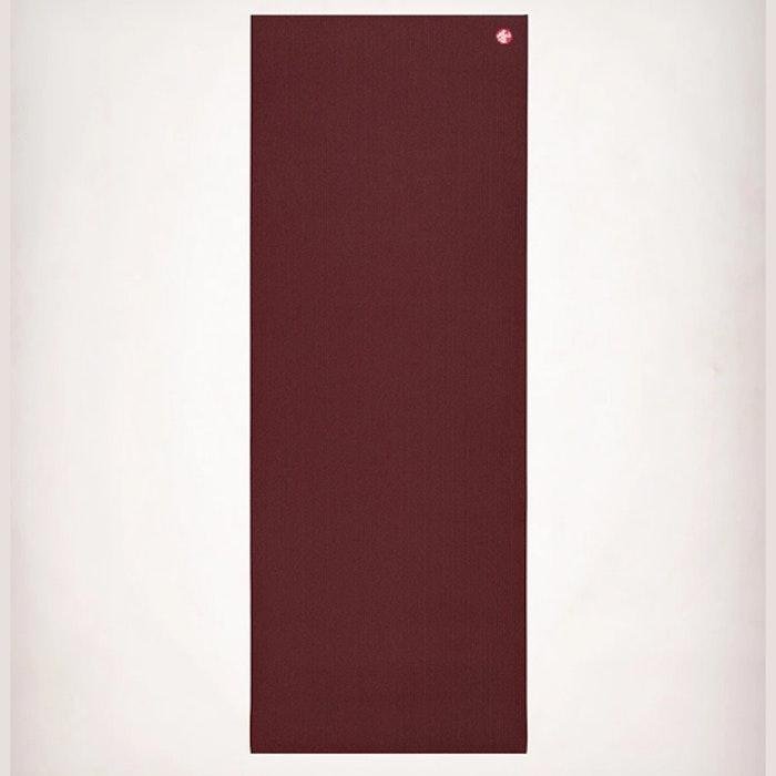 Yogamatta PRO mat Verve (vinröd) 6mm Extra lång - Manduka