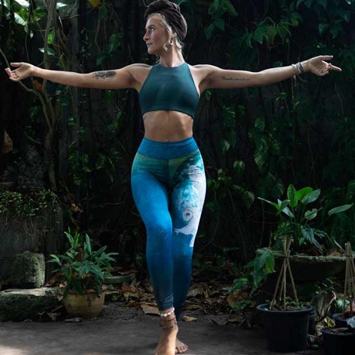 Yogaleggings Wisdom Owl - Yogia
