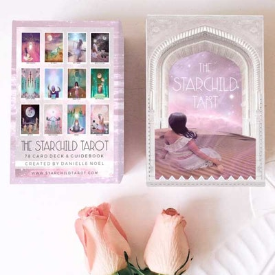 Tarotkort  The Starchild Tarot Rose Portal Box