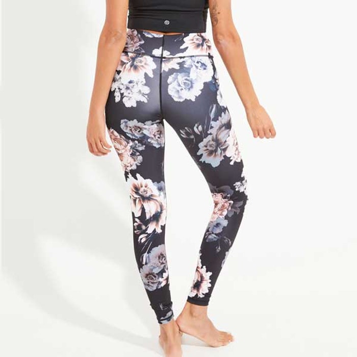 Yogaleggings Night mist Recycled High Waist - Dharma Bums