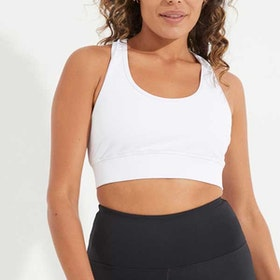 Sport-BH Yoga Narrow Back White - Dharma Bums