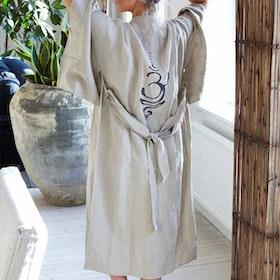 Kimono i linne Breathe long - Santa Ni
