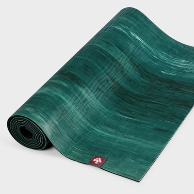 Yogamatta 4mm eKOLite Deep Forest Marbled - Manduka