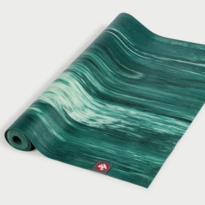 Yogamatta SuperLite Travelmat Deep Forest Marbled - Manduka