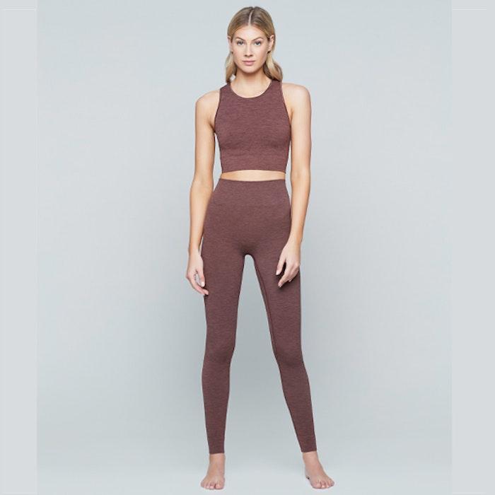 Seamless Crop Top Earth - Moonchild Yogawear