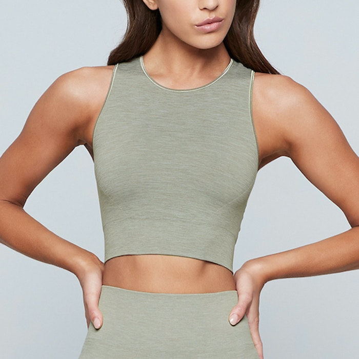 Seamless Crop Top gravity - Moonchild Yogawear