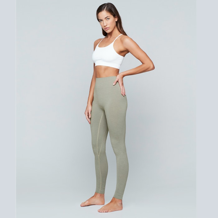 Sport-BH Yoga Seamless Zen Top White - Moonchild Yogawear