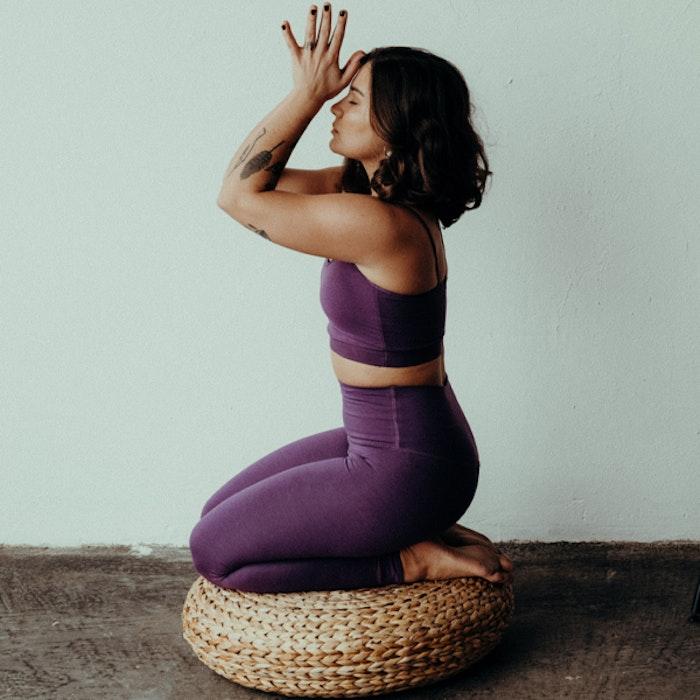 Sport-BH Yoga Slim Studio Purple - Mandala