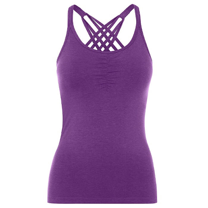 Yogalinne Infinity Top Purple - Mandala
