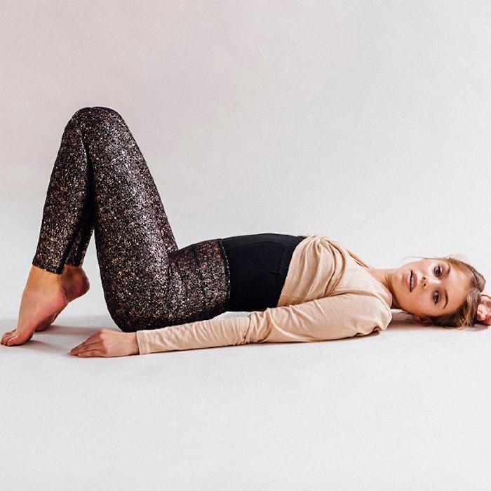 Yogaleggings Sparkling Tights - Mandala