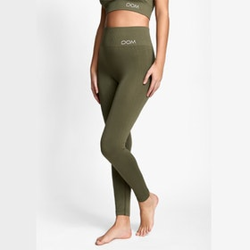 Yogaleggings Seamless CORA Forest Green - DOM