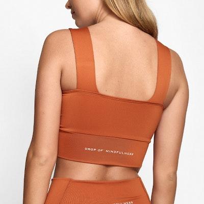 Sport-BH Yoga Lily Maple Orange - DOM