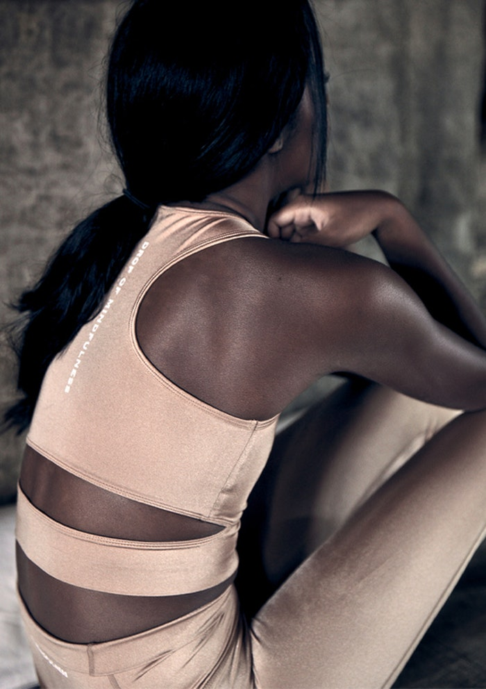 Sport-BH Yoga Melanie Sand Shine - DOM