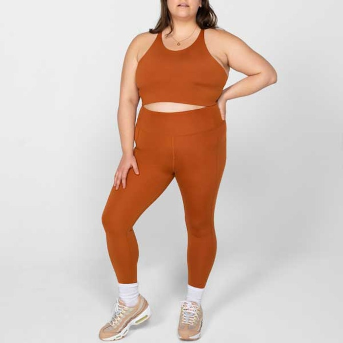 Yogaleggings High Rise Long Trail - Girlfriend Collective