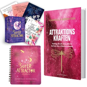 Super Attractor kit med Bok - Gabrielle Bernstein