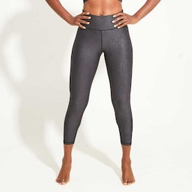 Yogaleggings Twillight metallic High Waist 7/8 - Dharma Bums