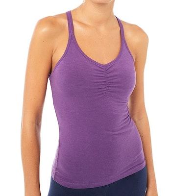 Yogalinne Infinity Top Purple - Mandala
