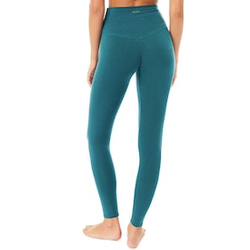 Yogaleggings High Waist Basic Tropical Green - Mandala