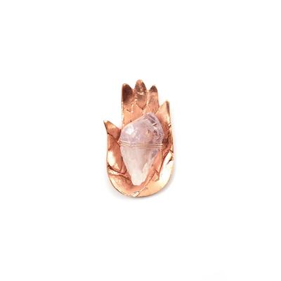 Sound Healing kristall kit Ametist Fatimas hand Rosé- Ariana Ost
