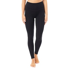 Yogaleggings High Waist Basic Black - Mandala