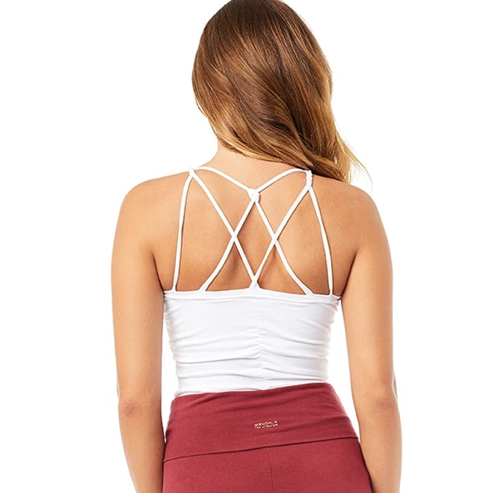 Yogalinne Cable Top Coconut - Mandala