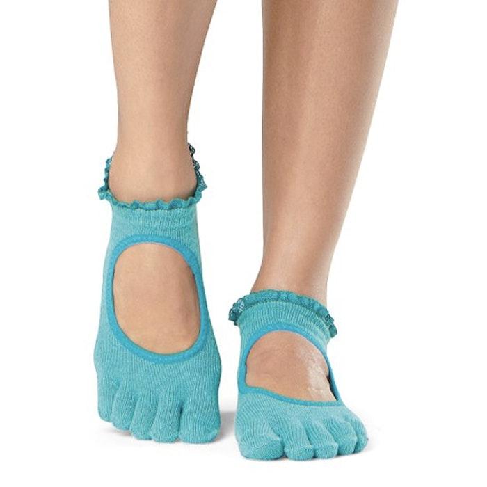Yogastrumpor Fulltoe Bella Grip Sea Lace - ToeSox