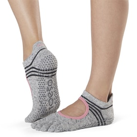 Yogastrumpor Fulltoe Bellarina Grip Aerobic - Toesox