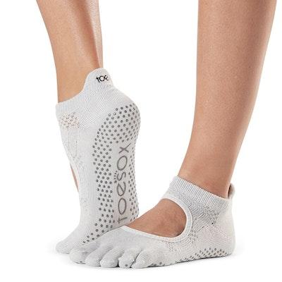 Yogastrumpor Fulltoe Bellarina Grip Ciao - Toesox