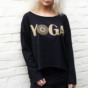 Tröja Tabita Black Yoga - Santa Ni