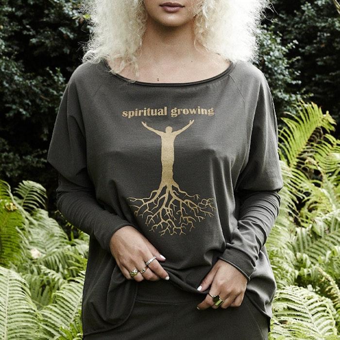 Tröja Enya Spiritual Growing Green - Santa Ni