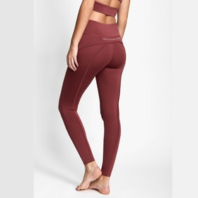 Yogaleggings BOW II Dark Rose - DOM