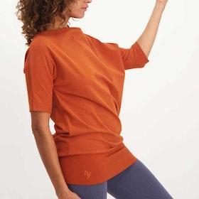 Yogatröja Bhav Tunic Rust - Urban Goddess