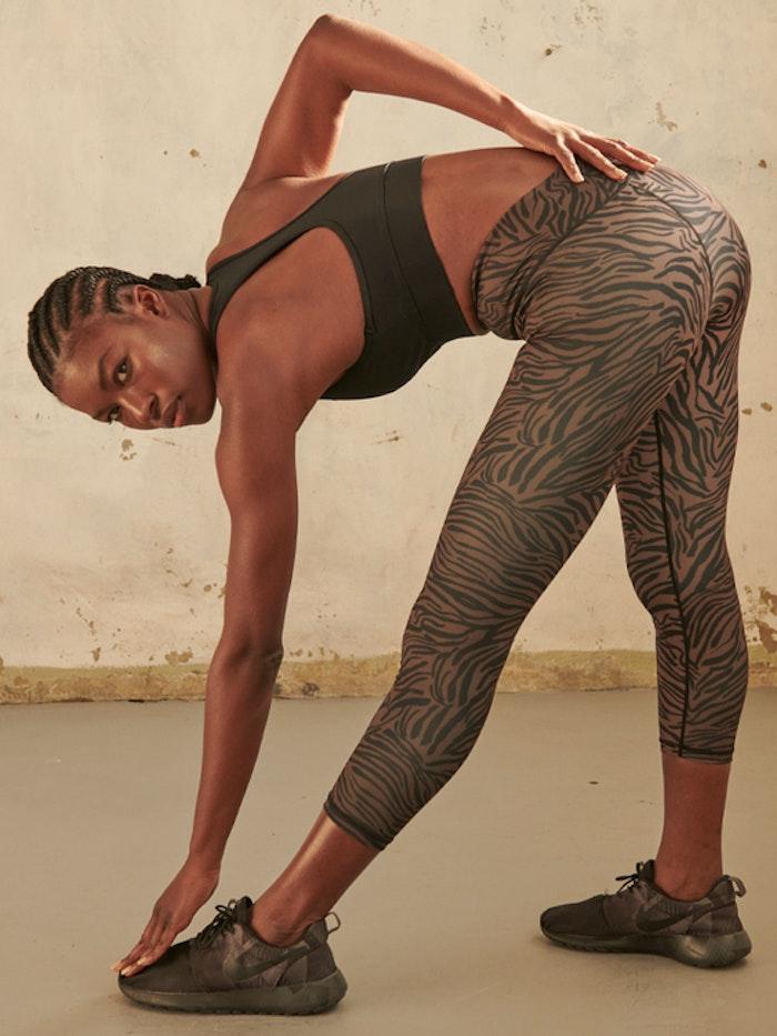 Yogaleggings Outlaw High Waist 7/8 - Dharma Bums