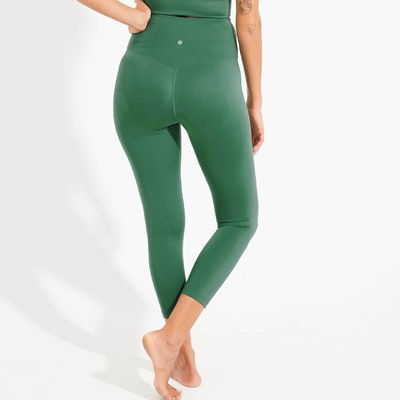 Yogaleggings High Waist Jade 7/8 - Dharma Bums