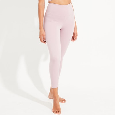 Yogaleggings High Waist Dust Mauve 7/8 - Dharma Bums