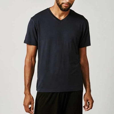 T-shirt Bill v-neck Darkblue - Movesgood